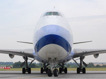 Colosso de Boeing 747 Fotografia de Stock Royalty Free