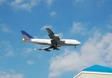 Colosso de Boeing 747 - jato Fotografia de Stock Royalty Free