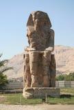 Colosso de Memnon Imagem de Stock