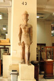 Colossus of egyptian pharaoh at the egyptian museum in cairo in egypt Stock Photography