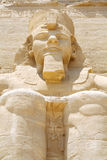 Colossus of The Great Temple of Ramesses II, Abu Simbel, Egypt Stock Photo