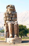 Colossus of Memnon royalty free stock photos