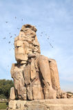 Colossus of Memnon Royalty Free Stock Images