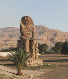 Colossus of Memnon, West Bank, Luxor, Egypt royalty free stock photos