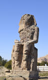 Colossus of Memon in Luxor Stock Images