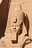 Colossus of Ramses II Stock Images