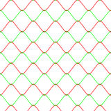 Colot Rabitz net fence background seamless pattern Royalty Free Stock Images