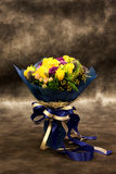 colouful花花束。 免版税图库摄影