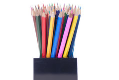Colouful pencils Stock Photos