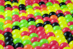Colouful plastic beads Stock Images