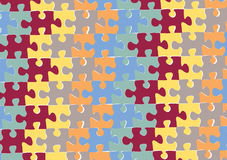 Colouful Puzzles Royalty Free Stock Image