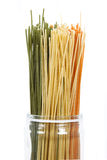 Colouful spaghetti Stock Image