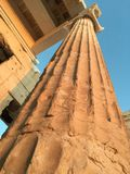 Coloumn de parthenon Photographie stock libre de droits