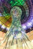 Coloumn di vetro Colourful Fotografie Stock