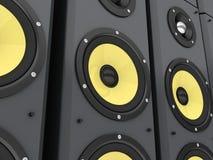 Coloumn music Royalty Free Stock Image