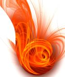Colour abstract art background. Stock Image
