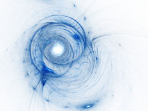 Colour abstract art background spiral. Stock Photography