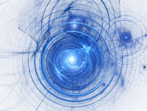 Colour abstract art background spiral. Royalty Free Stock Images