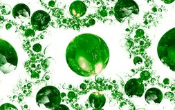 Colour abstract art balls  background. Royalty Free Stock Image