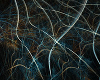 Colour abstract art fibers , background. Royalty Free Stock Photos