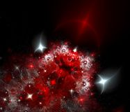 Colour abstract art nebula , backdrop . Royalty Free Stock Photography