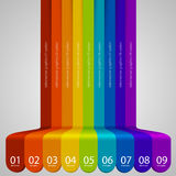 Colour Abstract Background Stock Images