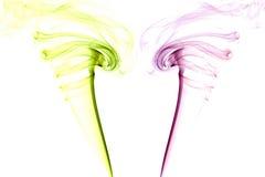 Colour abstract smoke Stock Photo