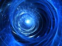 Colour abstrakcjonistycznej sztuki tła spirala. Fotografia Royalty Free