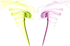 Colour abstrakta dym Zdjęcie Stock