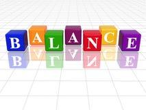 Colour Balance Stock Photography