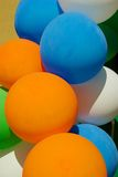 Colour balloons. Holiday background texture Royalty Free Stock Photos