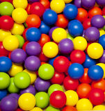 Colour Balls Stock Photography