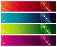 Colour banners Royalty Free Stock Image