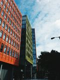 Colour. Beutiful and colourful buildings royalty free stock photography
