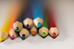 Colour blyertspennor Royaltyfria Bilder