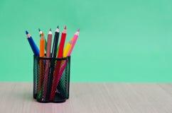 colour blyertspennor olika Fotografering för Bildbyråer
