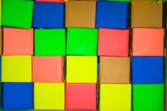 Colour Boxes background stock photos