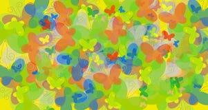 Colour butterflies Stock Image