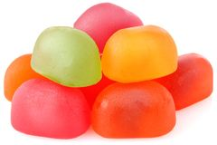 Colour candy of gelatin Stock Photo