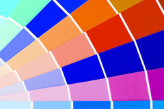 Colour card Royalty Free Stock Photography
