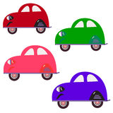 Colour cars Royalty Free Stock Photo