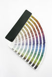 Colour Chart Royalty Free Stock Image