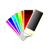Colour Chart Stock Photos