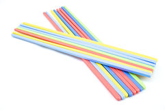 Colour of chopsticks. Plastic chopsticks are beautifully colored and easy Royalty Free Stock Images
