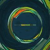Colour circle form. Abstract background. Stock Photos