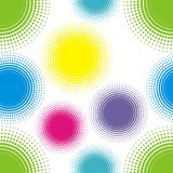 Colour circles Stock Photos