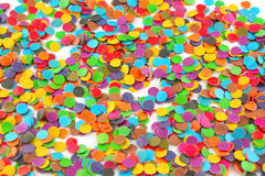 Colour circles from paper. For decoration Royalty Free Stock Photography