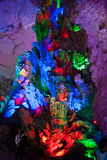 The Colour of Crown Cave, Guilin, China Royalty Free Stock Image