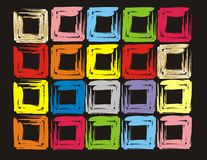 Colour cube. Make your life colourfull, like rainbow and always smile and happy Stock Photo