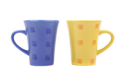 Colour Cups Stock Photography